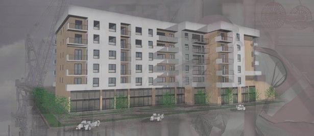 Stanovi i poslovni prostori Novi Travnik zgrada